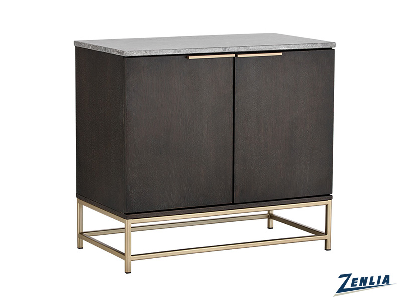 Reb Sideboard In Gold And Raw Umber