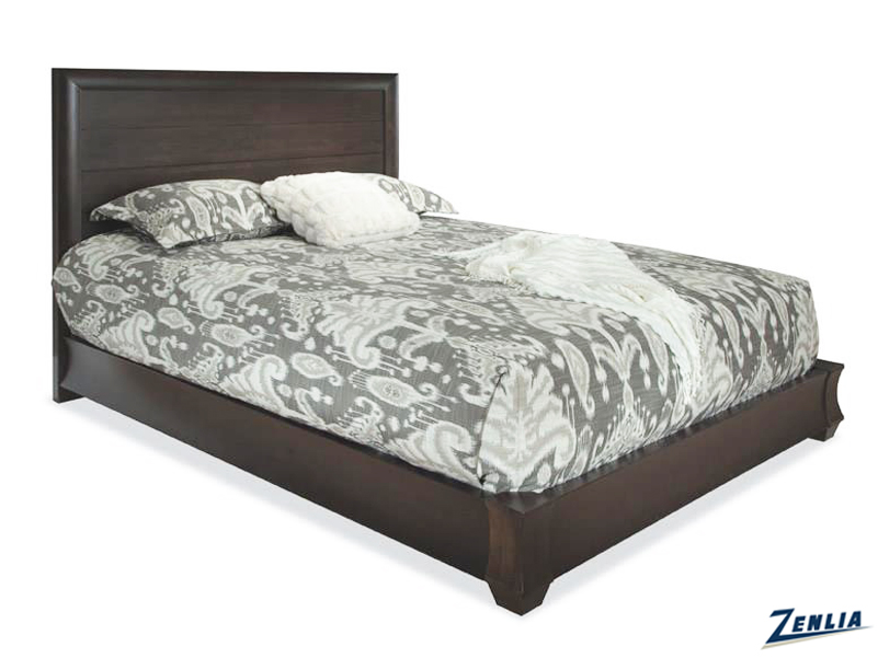 Casca Wood Panel Bed