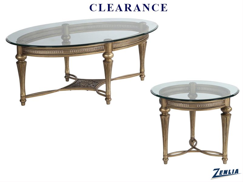 Gall Coffee Table And 1 End Table On Clearance