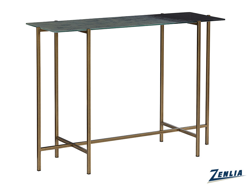 Lang Glass Console Table