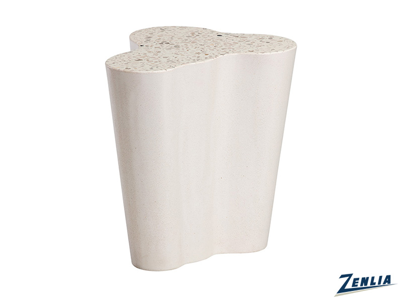 Va Small End Table In Terrazzo