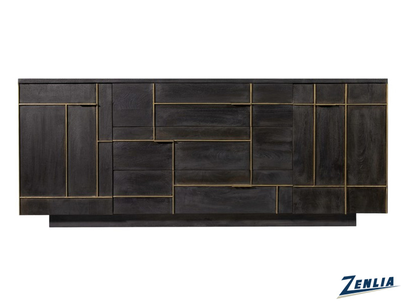 Bolt Sideboard With Gold Inlay