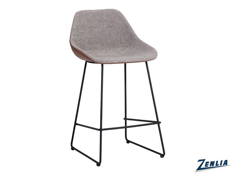 Mcc Stool In Grey And Brown