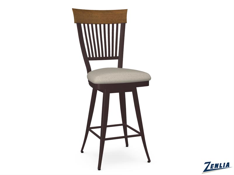 style-41-419-distressed-wood-and-fabric-swivel-stool-image