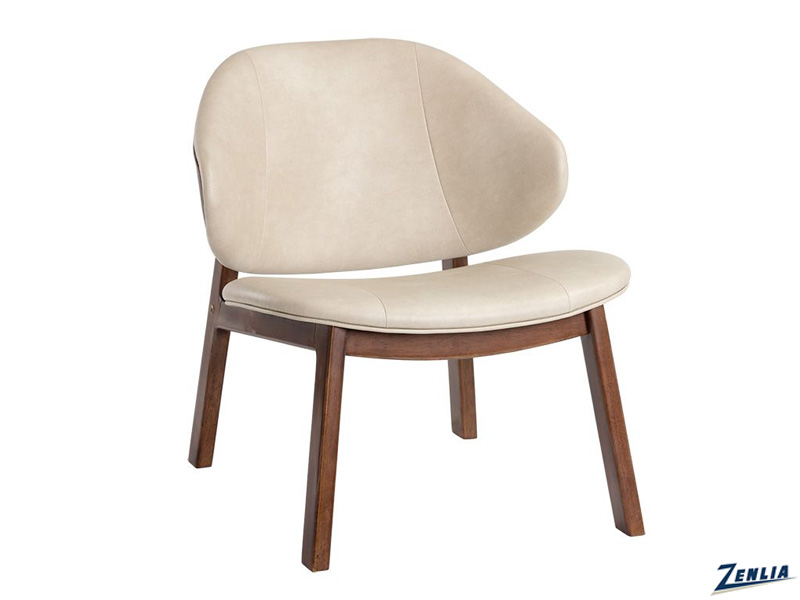 frank-lounge-chair-cream---cognac-image