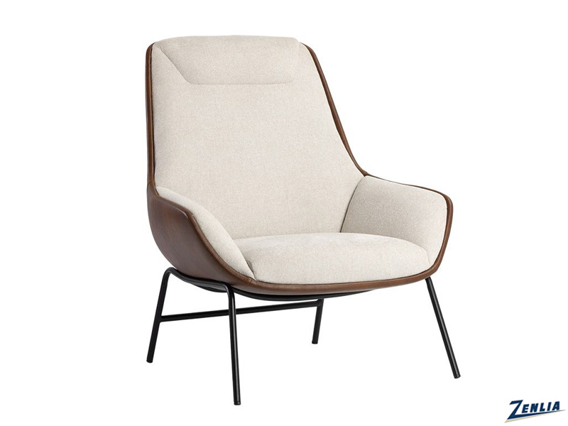 lucie-lounge-chair-oatmeal---cognac-image
