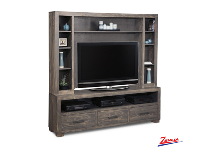 Steel 74h Wall Unit