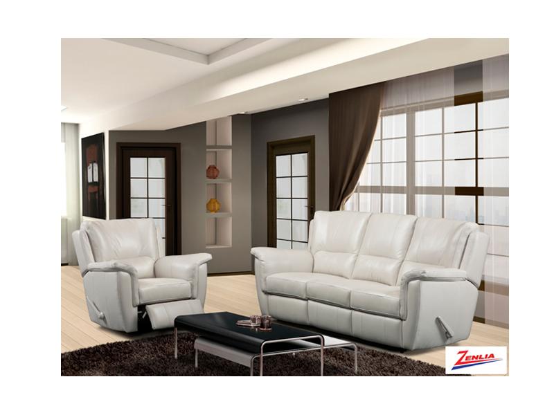 9008 Recliner Sofa Set